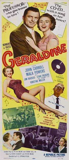 Geraldine - 14 x 36 Movie Poster - Insert Style A
