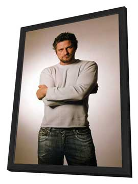 Gerard Butler - 11 x 17 Movie Poster - Style A - in Deluxe Wood Frame