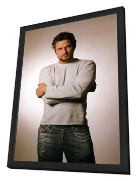 Gerard Butler - 27 x 40 Movie Poster - Style A - in Deluxe Wood Frame
