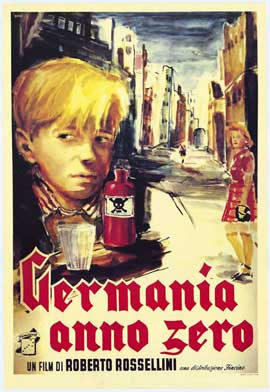 Germany Year Zero - 11 x 17 Movie Poster - Italian Style A