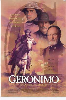 Geronimo:  An American Legend - 11 x 17 Movie Poster - Style A