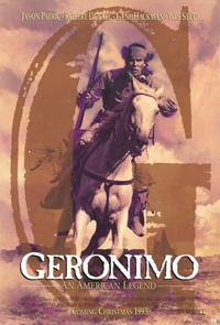 Geronimo:  An American Legend - 11 x 17 Movie Poster - Style D