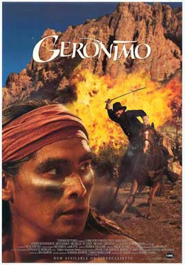 Geronimo:  An American Legend - 27 x 40 Movie Poster - Style B
