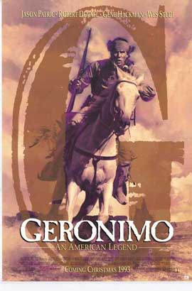 Geronimo:  An American Legend - 27 x 40 Movie Poster - Style D