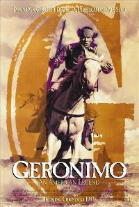Geronimo:  An American Legend - 43 x 62 Movie Poster - Bus Shelter Style B