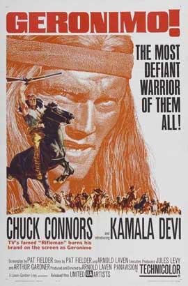 Geronimo - 27 x 40 Movie Poster - Style B