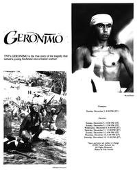 Geronimo TNT Original - 8 x 10 B&W Photo #1