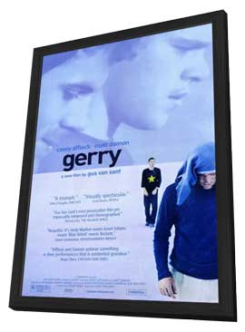 Gerry - 27 x 40 Movie Poster - Style A - in Deluxe Wood Frame