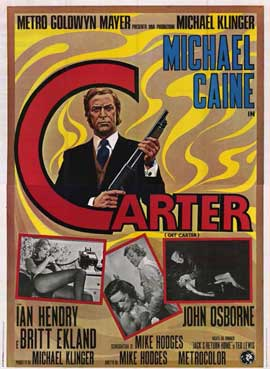 Get Carter - 11 x 17 Movie Poster - Italian Style A