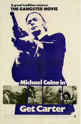 Get Carter - 11 x 17 Movie Poster - Style F