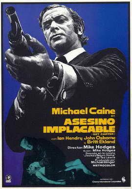 Get Carter - 27 x 40 Movie Poster - German Style A