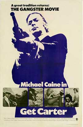 Get Carter - 11 x 17 Movie Poster - Style G