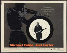 Get Carter - 22 x 28 Movie Poster - Half Sheet Style A