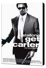 Get Carter - 27 x 40 Movie Poster - Style A - Museum Wrapped Canvas