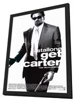 Get Carter - 11 x 17 Movie Poster - Style A - in Deluxe Wood Frame