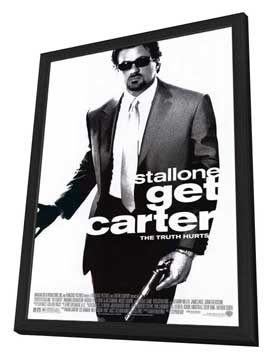Get Carter - 27 x 40 Movie Poster - Style A - in Deluxe Wood Frame
