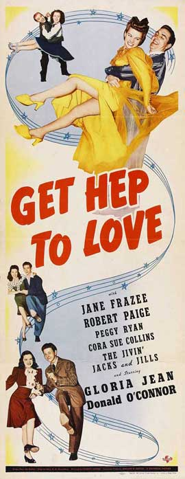 Get Hep to Love - 14 x 36 Movie Poster - Insert Style A