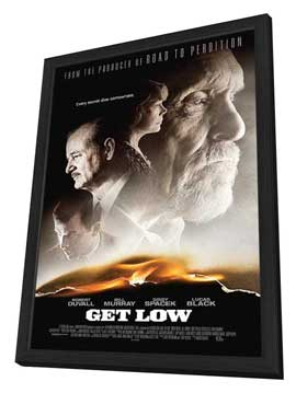 Get Low - 11 x 17 Movie Poster - Style A - in Deluxe Wood Frame