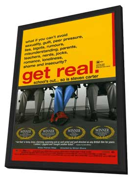 Get Real - 11 x 17 Movie Poster - Style A - in Deluxe Wood Frame
