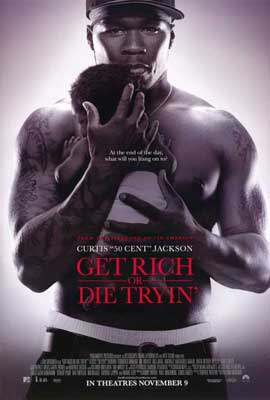 Get Rich or Die Tryin' - 27 x 40 Movie Poster - Style B