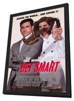 Get Smart - 11 x 17 Movie Poster - Style B - in Deluxe Wood Frame