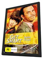 Get Smart (TV) - 11 x 17 TV Poster - Australian Style J - in Deluxe Wood Frame