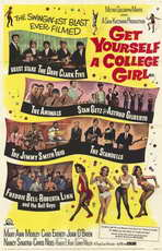 Get Yourself a College Girl - 11 x 17 Movie Poster - Style A