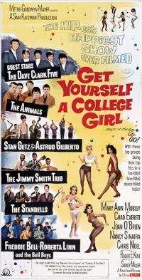 Get Yourself a College Girl - 14 x 36 Movie Poster - Insert Style A