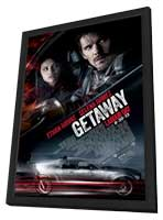 Getaway - 27 x 40 Movie Poster - Style A - in Deluxe Wood Frame