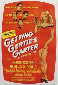 Getting Gertie's Garter - 43 x 62 Movie Poster - Bus Shelter Style A