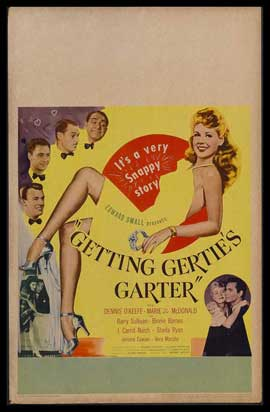 Getting Gertie's Garter - 27 x 40 Movie Poster - Style B