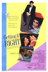 Getting It Right - 27 x 40 Movie Poster - Style A