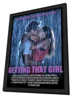 Getting That Girl - 11 x 17 Movie Poster - Style A - in Deluxe Wood Frame