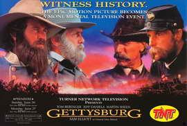 Gettysburg - 27 x 40 Movie Poster - Style B