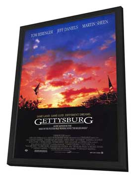 Gettysburg - 11 x 17 Movie Poster - Style A - in Deluxe Wood Frame