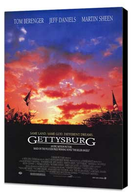 Gettysburg - 11 x 17 Movie Poster - Style A - Museum Wrapped Canvas