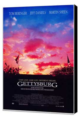 Gettysburg - 27 x 40 Movie Poster - Style A - Museum Wrapped Canvas