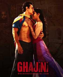 Ghajini - 11 x 17 Movie Poster - Style D