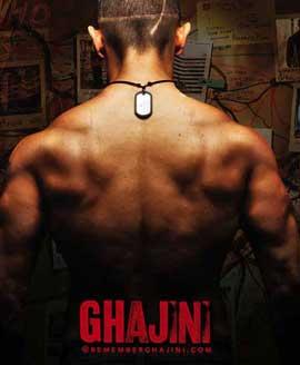 Ghajini - 11 x 17 Movie Poster - Style F