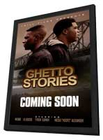 Ghetto Stories - 11 x 17 Movie Poster - Style A - in Deluxe Wood Frame