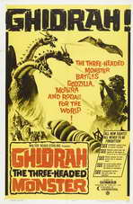 Ghidrah, the Three-Headed Monster - 20 x 40 Movie Poster - Style A