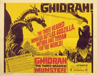 Ghidrah, the Three-Headed Monster - 11 x 14 Movie Poster - Style A