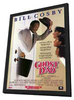 Ghost Dad - 11 x 17 Movie Poster - Style A - in Deluxe Wood Frame