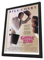 Ghost Dad - 27 x 40 Movie Poster - Style A - in Deluxe Wood Frame