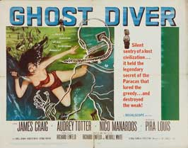 Ghost Diver - 11 x 14 Movie Poster - Style A
