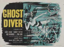 Ghost Diver - 27 x 40 Movie Poster - UK Style A
