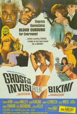 Ghost In the Invisible Bikini - 27 x 40 Movie Poster - Style A