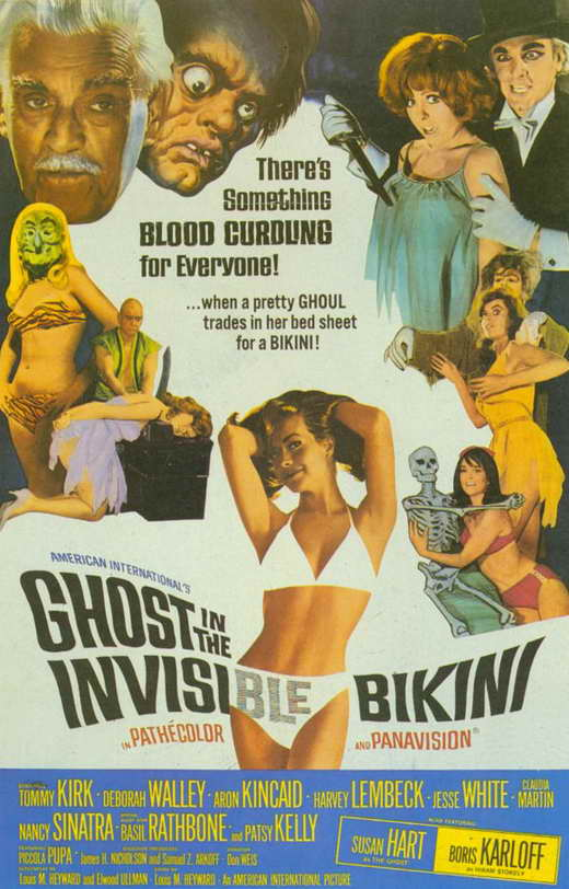 Ghost In the Invisible Bikini Movie Posters From Movie Poster Shop