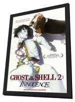 Ghost in the Shell 2: Innocence - 11 x 17 Movie Poster - Style A - in Deluxe Wood Frame