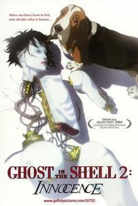 Ghost in the Shell 2: Innocence - 43 x 62 Movie Poster - Bus Shelter Style A